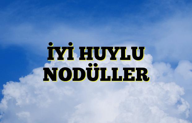 İYİ HUYLU NODÜLLER