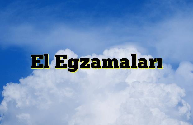 El Egzamaları