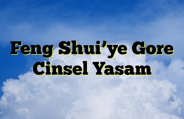 Feng Shui'ye Gore Cinsel Yasam