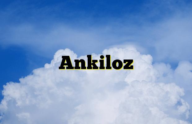 Ankiloz